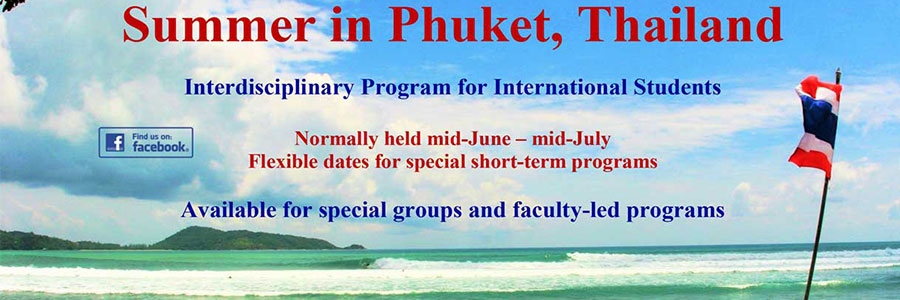 Study Phuket Summer - Education Abroad Asia