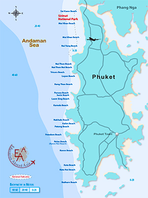 Phuket Map - Dr Steven A Martin Education Abroad Asia