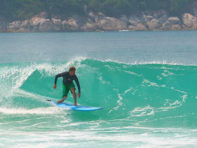 Dr Steven Martin - Surfing Phuket - Education Abroad Asia