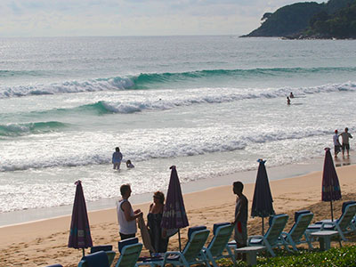 Surfing Karon Beach Phuket Thailand Education Abroad Asia