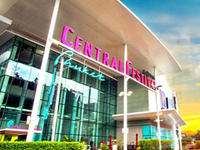 Central Shopping Center - Study in Phuket Thailand