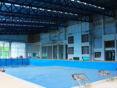 Phuket Campus Sports Facility - Olympic Pool Education Abroad Asia