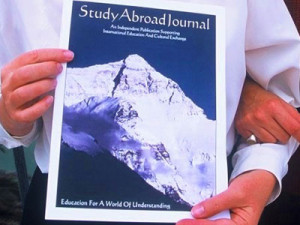 Study Abroad Journal Magazine Cover - Education Abroad Resource