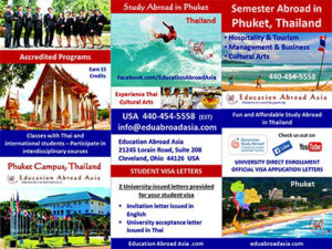 Education Abroad Asia Study Phuket Presentations