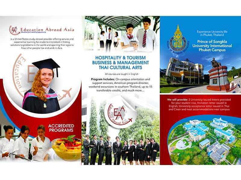 Education Abroad Asia - Trifold Brochure - Back 2017