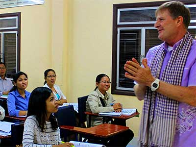 Study Abroad Journal - Education Abroad Asia - Dr Steven Martin