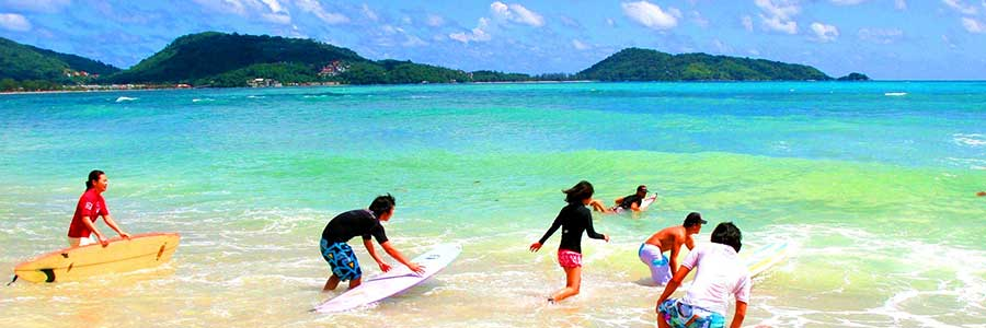 Surfing Phuket Thailand Education Abroad Asia