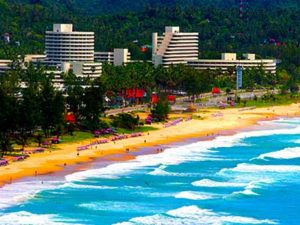 surfing waves surfing phuket thailand